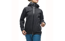 Houdini Women's Surpass Shell Jacket rock black/true black